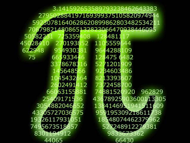 عدد پی(π)