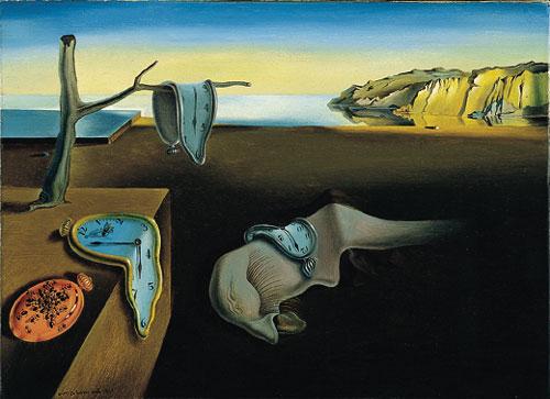 "تابلوی نقاشی ""تداوم حافظه"" اثر سالوادور دالی"