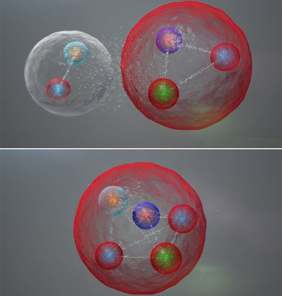 کشف ذره پنج کوارکی پس از نیم قرن جست و جو