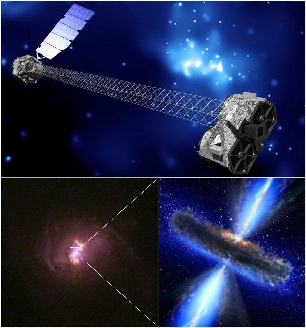 دانشمندان با استفاده از تلسکوپ اشعه ایکس ناسا 5 سیاهچاله ی پر جرم و مخفی را کشف کردند.