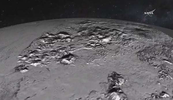 تصویری از سطح پلوتو