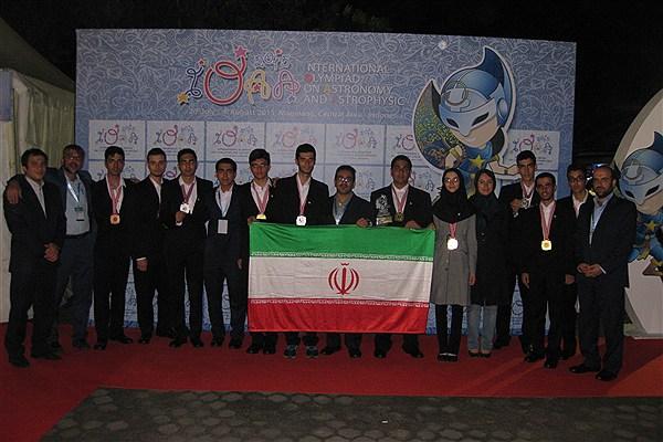 تیم المپیاد نجوم ایران، قهرمان جهان شد