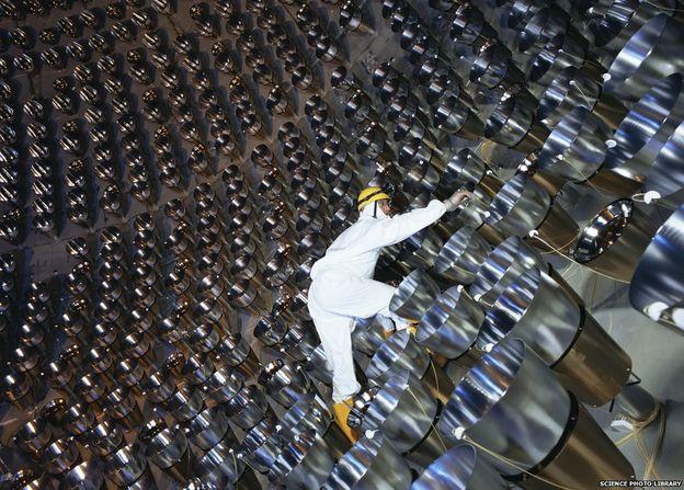 تصویری از آزمایشگاه بورکسینو در گرن ساسو ایتالیا