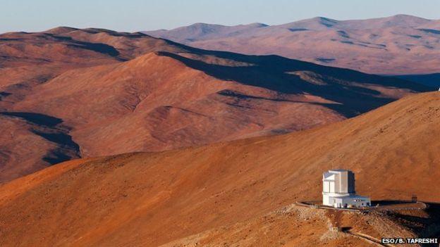 برای این مطالعه از جمله از تلسکوپ ویستا در شیلی استفاده شد