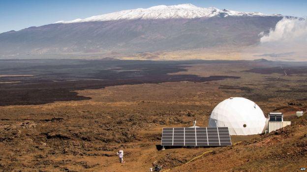 محققان مریخ را به زمین آوردند: شبیه سازی زندگی در مریخ آغاز شد!