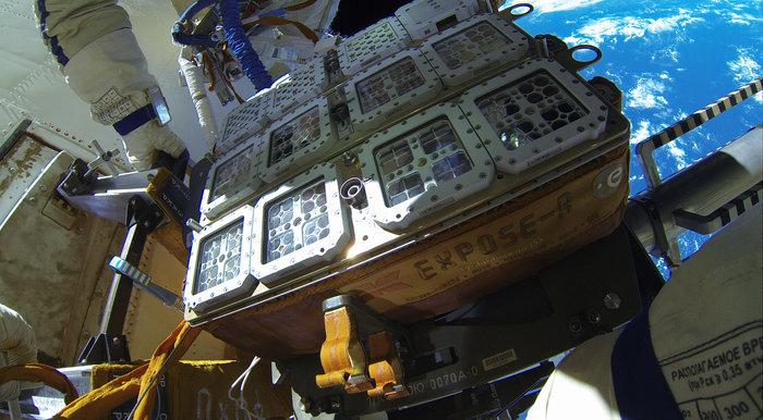 محموله موسوم به Expose-R2 در فضا
