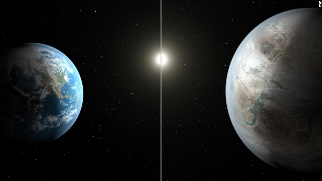 مقایسه ی زمین و سیاره ی کپلر 452b