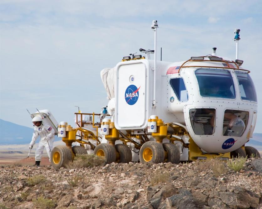 مریخنورد آزمایشی ناسا که در حال حاضر در دست طراحی برای مأموریت مریخ است.