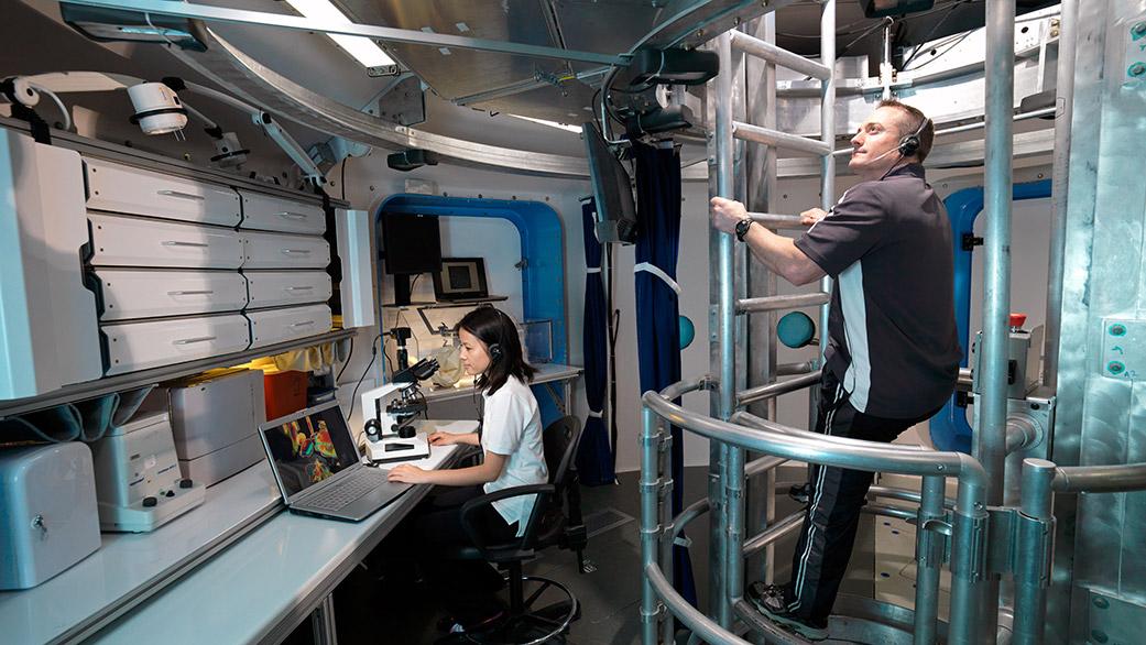 پایگاه HERA در پایگاه فضایی جانسون