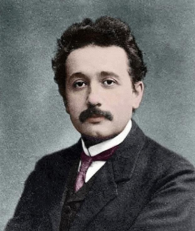 آلبرت اینشتین در جوانی