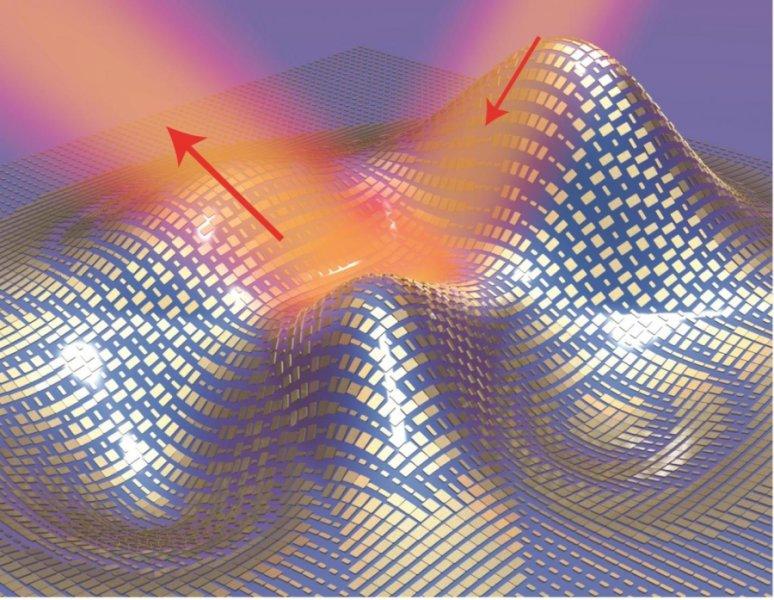 دانشمندان ردای کوچکی را با استفاده از تکههای بسیار کوچک طلا ساختهاند که مانند پوست بدن، شکل اشیا را به خود میگیرد و آن را نامرئی میسازد.