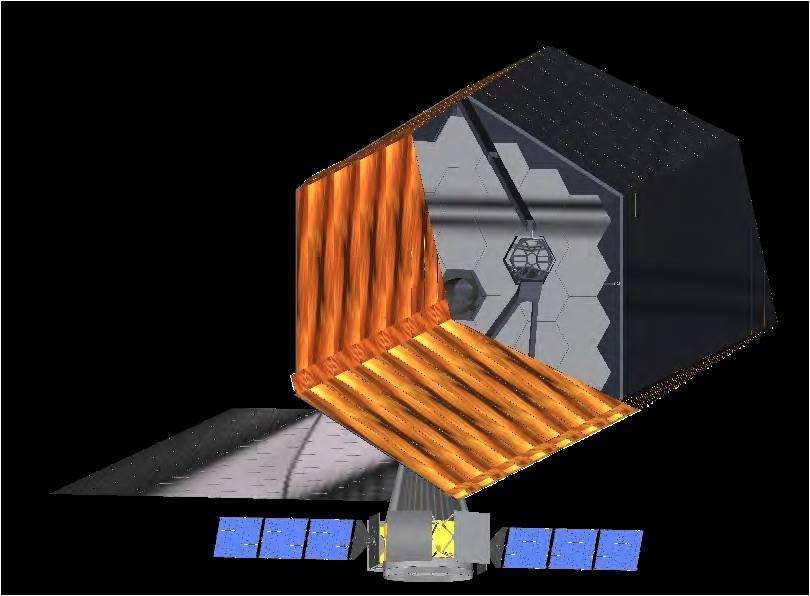 تصویری هنری از تلسکوپ فضایی کیفیت بالا