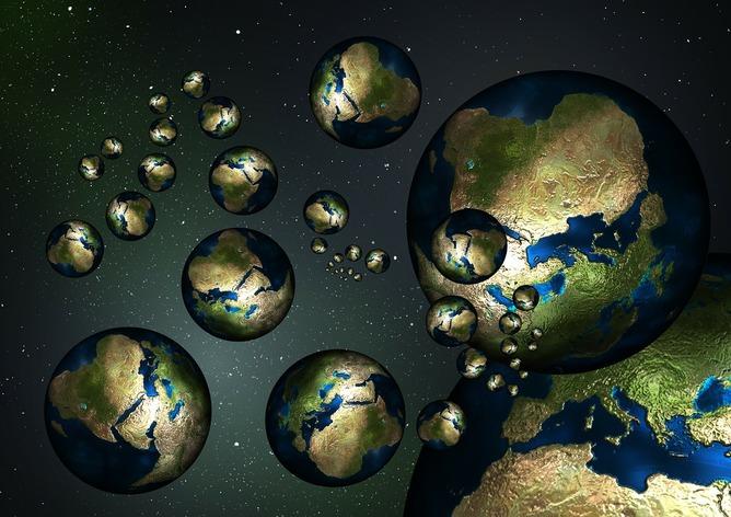 دانشمندان در حال جست و جو برای برخورد جهان های حبابی در تابش زمینه کیهانی هستند.