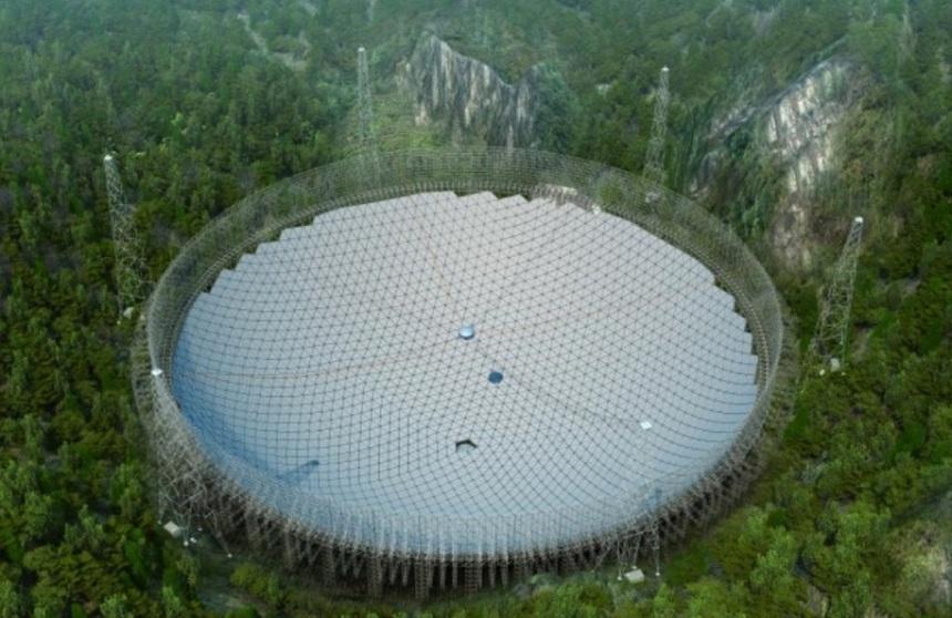 این تلسکوپ در صورت کامل شدن به این شکل دیده می شود.