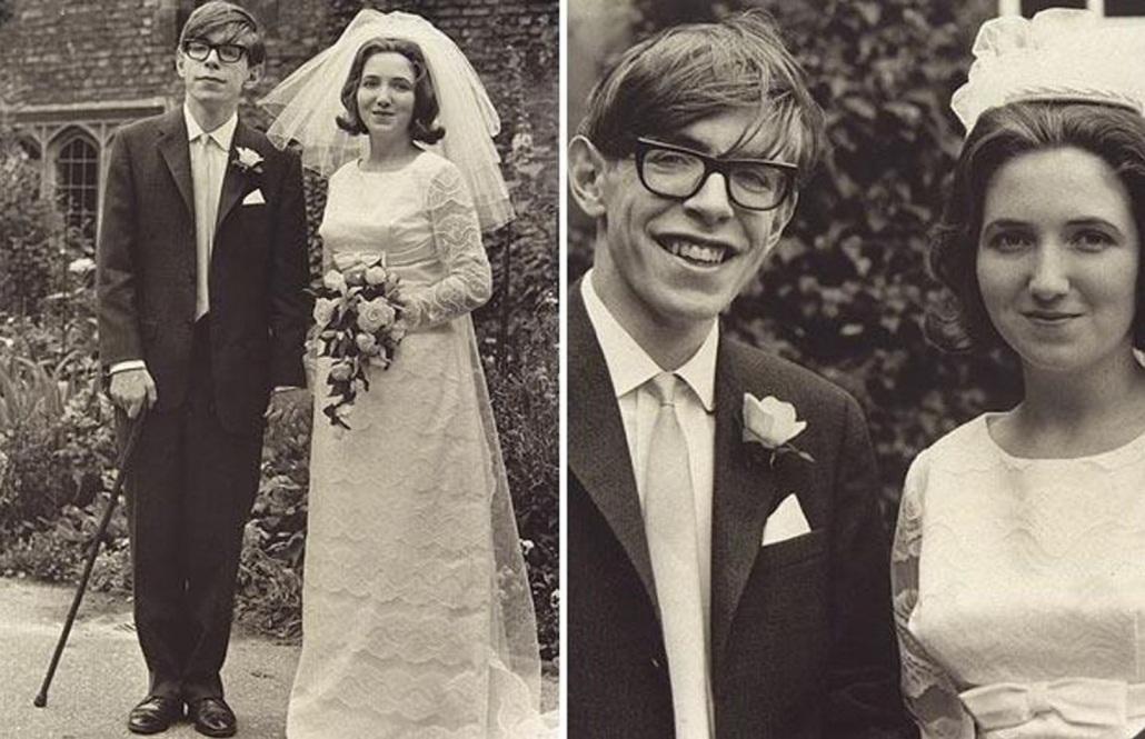 تصویری از استیون هاوکینگ و جین وایلد همسر اولش