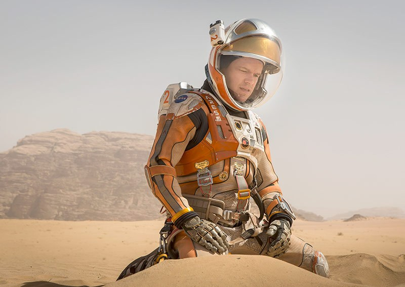 """در فیلم مریخی """"مت دیمون"""" نقش فضانوردی به نام """"مارک واتنی"""" را بازی می کند."""