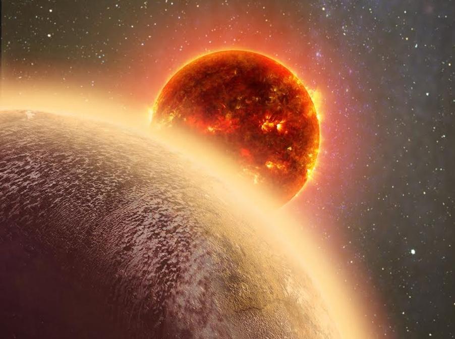 کشف سیاره ای فراخورشیدی که همانند ناهید اتمسفر دارد.