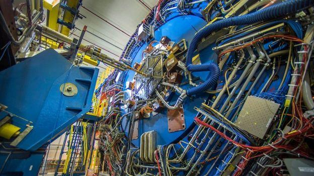 فیزیکدان ها با استفاده از یک شتاب دهنده ذرات به نام آراچآیسی در نیویورک توانستند نیروی بین جفت های پادپروتون را اندازه بگیرند.