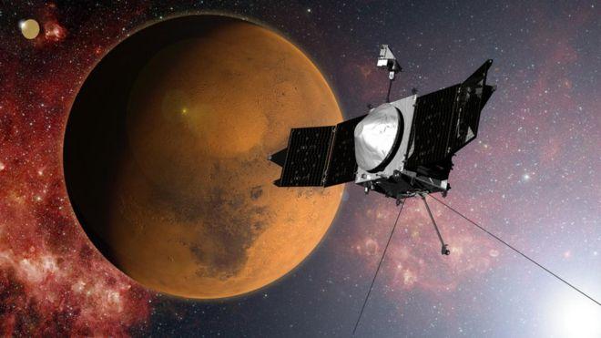 ماهواره ماون سال گذشته در مدار مریخ مستقر شد.
