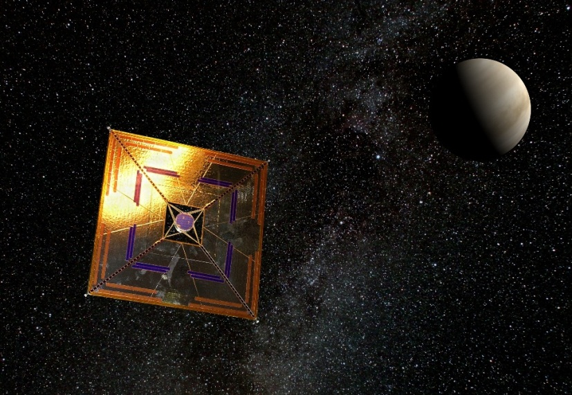 Spacecraft solar-wind