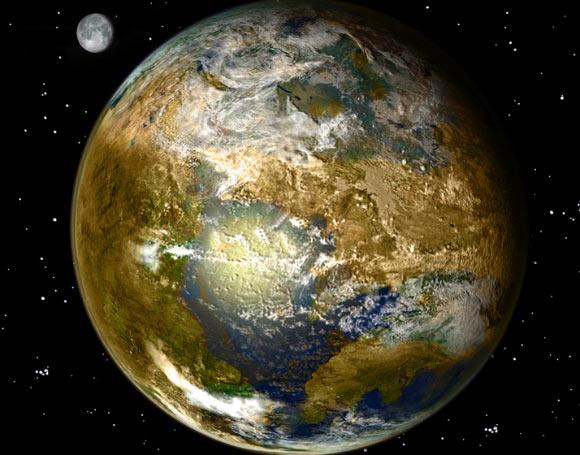 به گفته ی دانشمندان، بخشی از آب در زمین از ابتدا با آن بوده است.