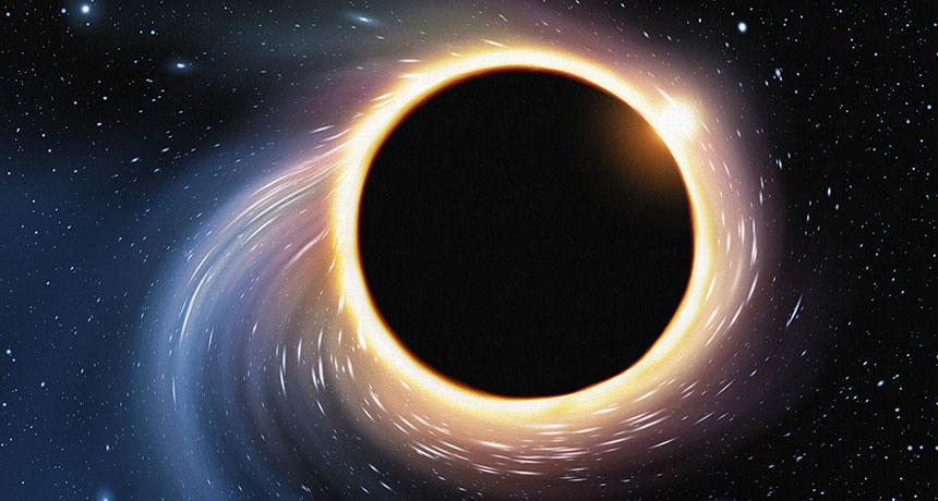 سیاهچاله ها مناطقی عجیب و غریب اند، بطوریکه گرانش از قدرت کافی برای خم کردن نور، فضا و تحریف زمان نیز برخوردار است.