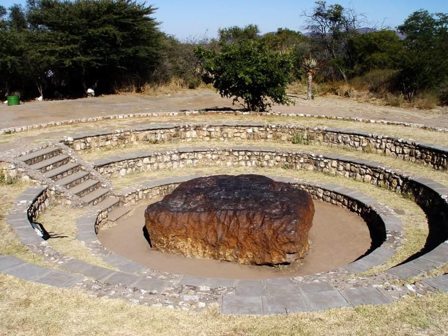 تصویری از بزرگترین شهابسنگ شناخته شده بنام هوبا