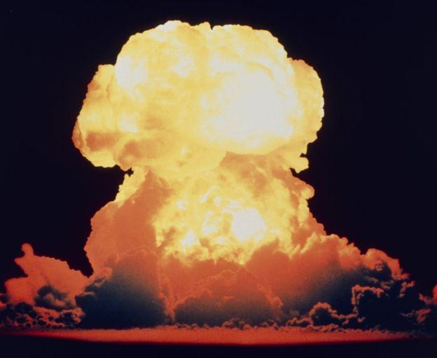 آثار شیمیایی عناصر رادیواکتیو آزمایش های اتمی تا صدها هزار سال در صخره ها ثبت خواهد شد