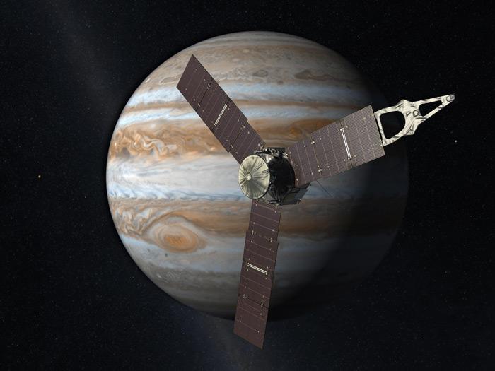 فرستادهای به آسمان: ماموریت جونوی ناسا، 4 جولای به مشتری خواهد رسید