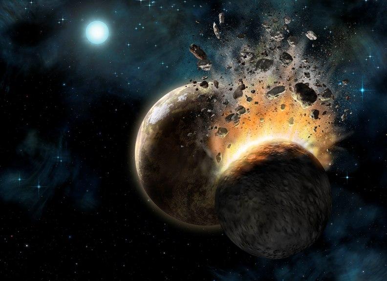 زمین از دو سیاره ساخته شده است!