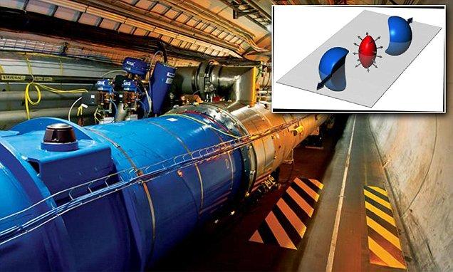 شبیه سازی مخلوط ابرداغ اولیه کیهان در شتاب دهنده سرن