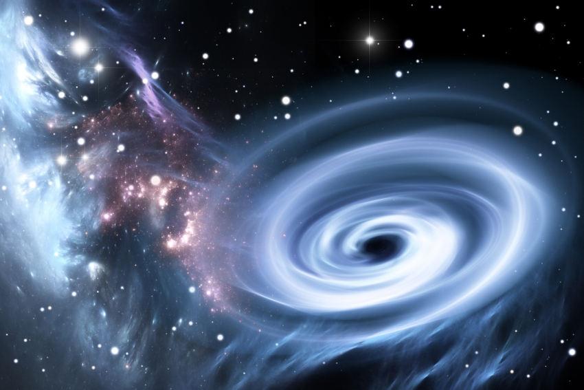 سیاهچاله در جهان پنجبُعدی از قوانین فیزیک سرپیچی میکند!