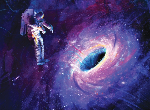 سقوط درون سیاهچاله