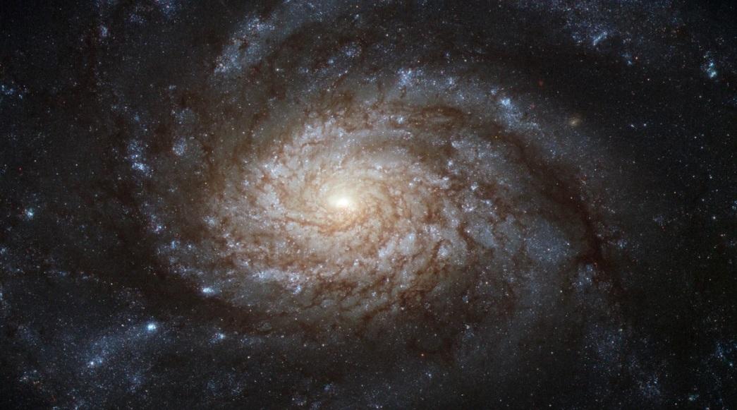 نمایی از کهکشان NGC 3810