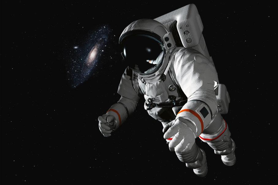 فضانوردان قبل از رفتن به فضا دوره های زیاد و طاقت فرسایی را می گذرانند اما حتی سرسخترین آنها نیز ممکن است دچار فضازدگی شوند.