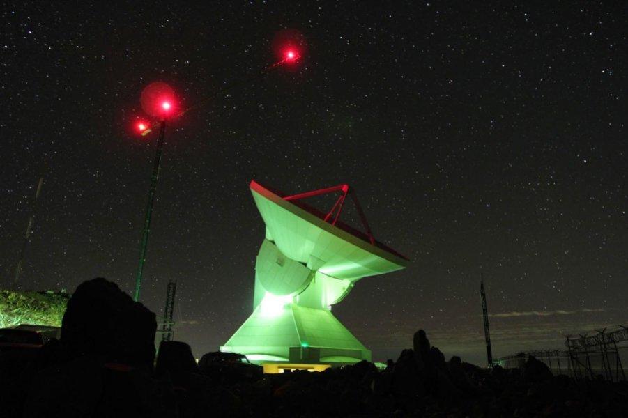 تصویری از تلسکوپ میلیمتری بزرگ مکزیک