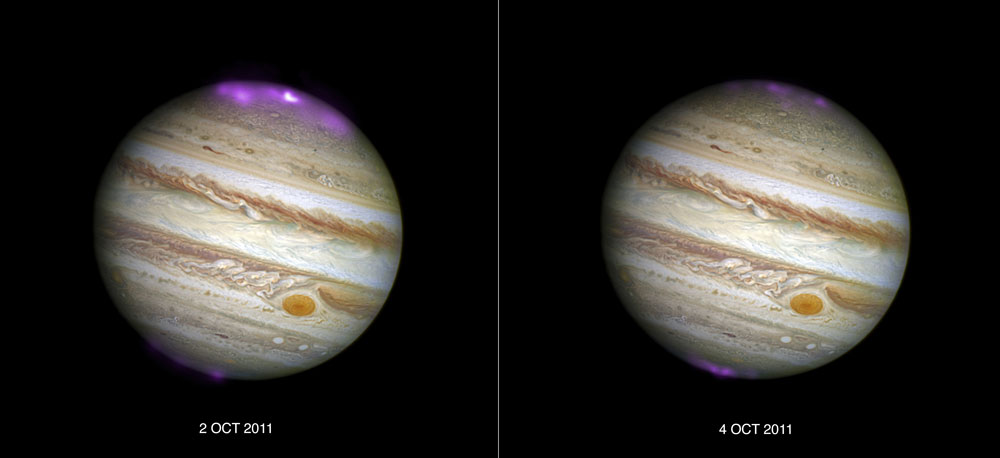 Jupiter's-Northern-Lights
