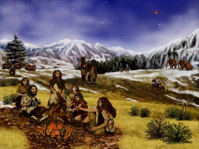 آفریقایی های مدرن شمالی، رد پای ژنتیکی انسان های نئاندرتال را دارند و همچنین تصور می گردد که اجداد آنها با نزدیکترین خویشاوند شناخته شده ی انسان ها که منقرض شده(نئاندرتال ها) آمیزش داشته اند. گزارش شده در 17 اکتبر 2011، در مجله پلوس