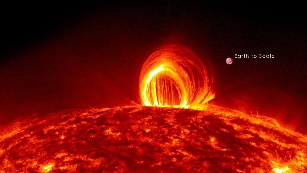طوفان ِ مرگبار خورشیدی که به زمین حیات بخشید!