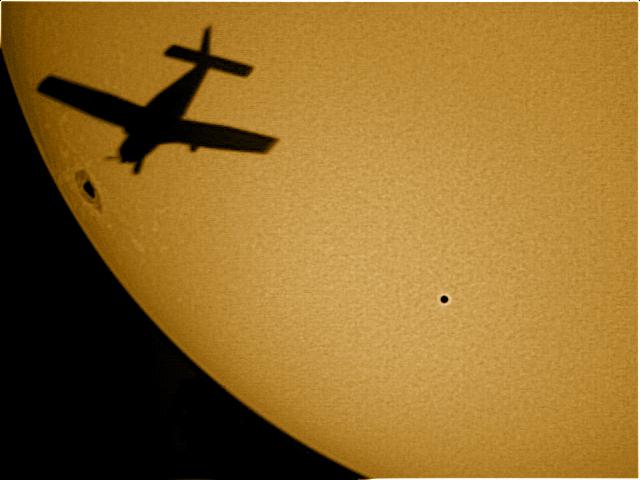 Sun-Mercury-Transit-airplane-color