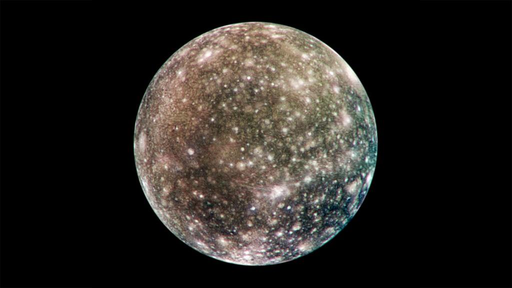 تصویری از قمر کالیستو