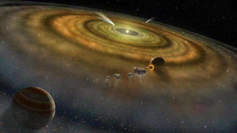 مشتری رازهایی از ابتدای تشکیل منظومه شمسی در خود دارد.