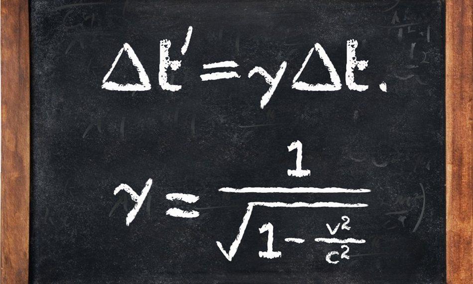 فرمول نظریه نسبیت خاص اینشتین