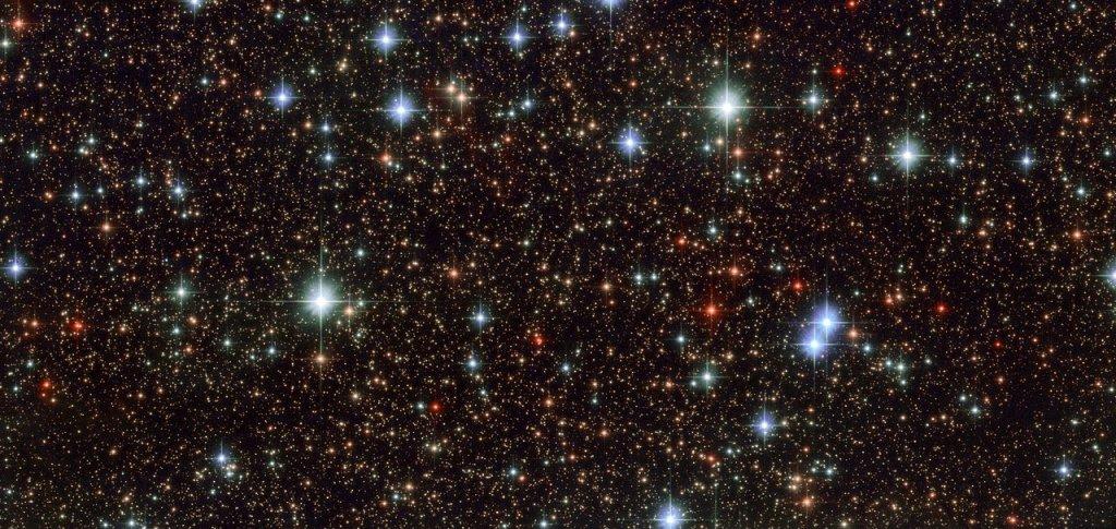 نمای پر ستاره در کهکشان ما