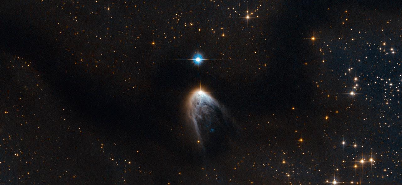 لحظه ی تولد یک ستاره