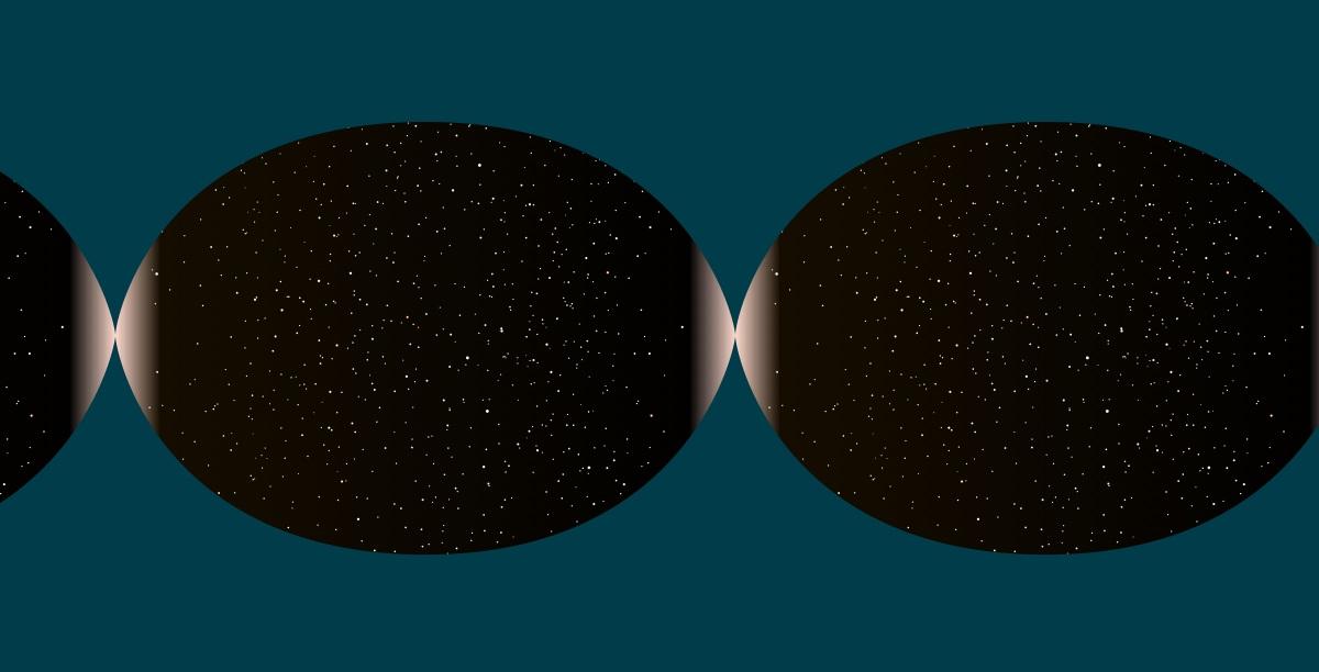 """طبق مدل """"جهش بزرگ"""" یک جهان جدید می تواند از حالت منقبض قبلی به حالت انبساطی بعدی جهش یابد."""