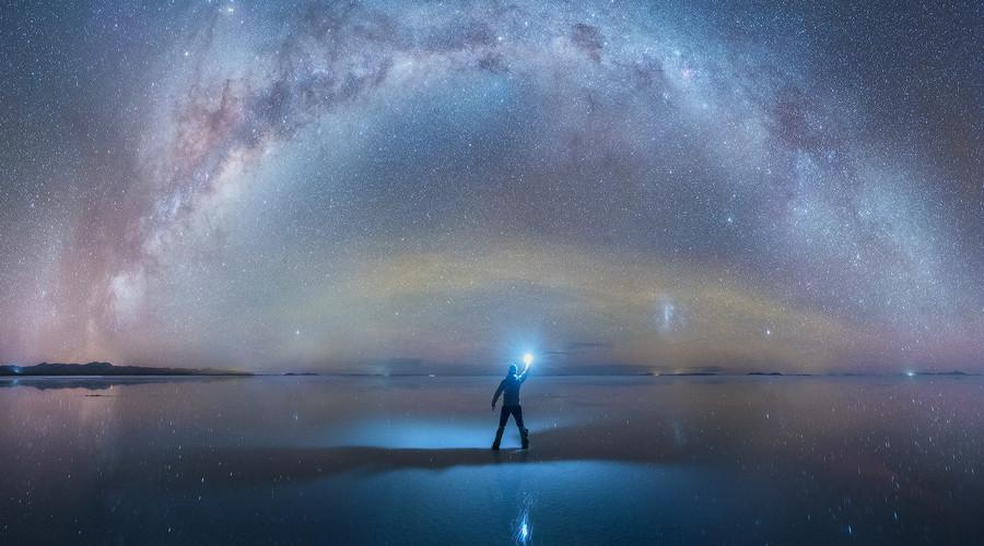 شکار کمان ستارگان راه شیری در بولیوی