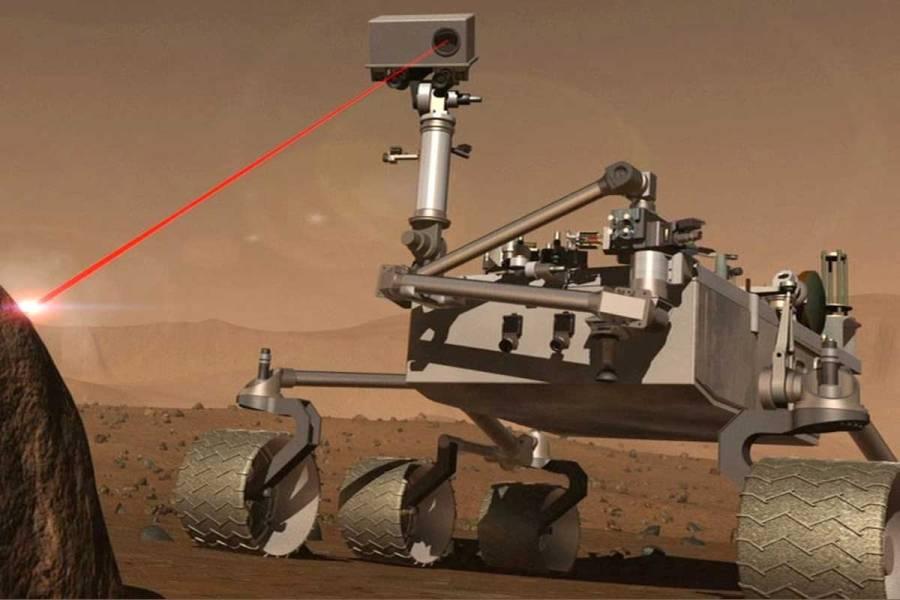 لیزر مریخ نورد کنجکاوی: یک نسخه اولیه از باریکه انرژی سیارکی؟