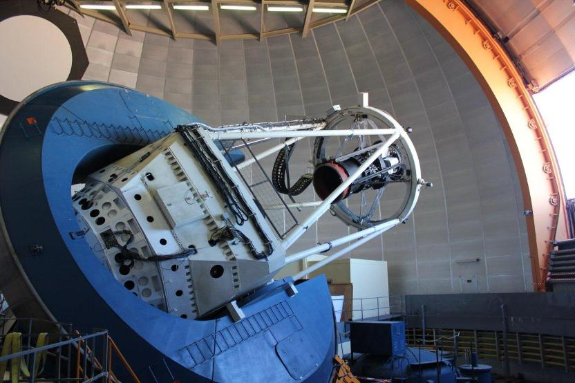 دوربین انرژی تاریک نصب شده بر روی تلسکوپ بلانکو در کشور شیلی