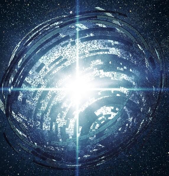 تعجب دانشمندان از ساختارهای عجیب به دور ستاره ی دوردست- تصویر هنری است.